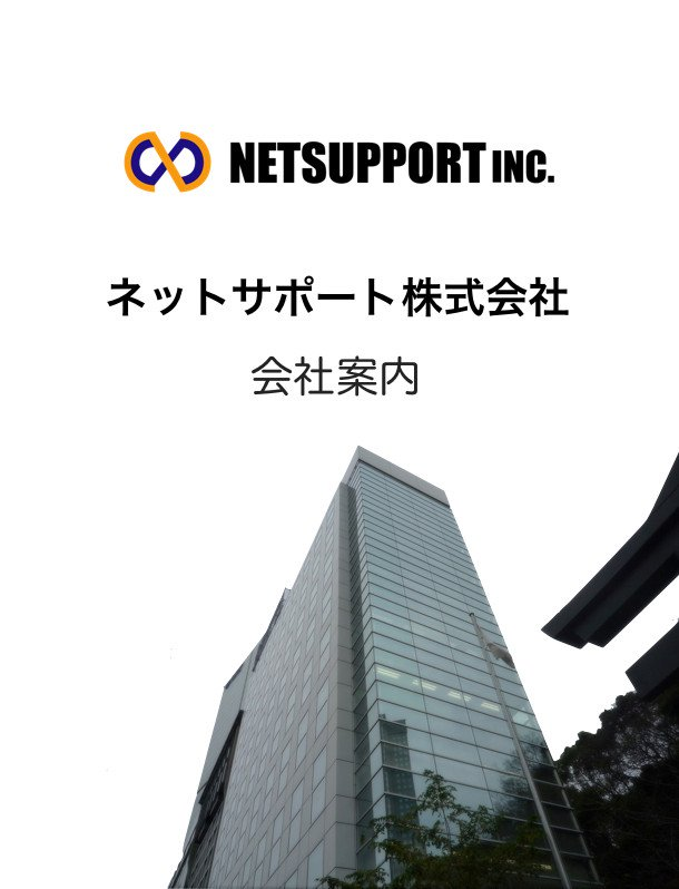 ネットサポート株式会社 新卒者向け会社案内